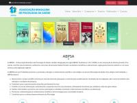 ˜˜  ABPSA - Associação Brasileira de Psicologia da Saúde ˜˜