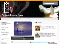 Paroquiaespiritosanto.com.br - Home - Paróquia Espírito Santo