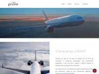Primenaweb.com.br - PRIME Serviços Aeronáuticos: Home, Empresa, Serviços, Links, Localização, Contato e Cotação do Câmbio