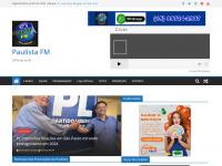 radiopaulistafm.com.br