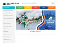 Reforfibra.com.br - REFORFIBRA - SERVICOS E LAZER, PISCINA, PLAYGROUND, RECUPERACAO COM FIBRA DE VIDRO, PEDALINHO CISNE, CANOA, ESCORREGADOR, CADEIRA PARA CORTE, PARQUE AQUETICO, LIXEIRA, BALANCO, BRINQUEDO, CAIAQUE, MOVEIS PARA PISCINA EM GOIANIA E  ..