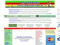RS VIRTUAL - O Rio Grande do Sul na Internet