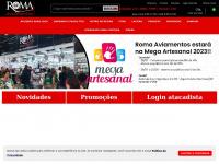 Armarinhos loja virtual no Brás em São Paulo - Roma Aviamentos
