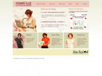 Página Principal do site Roseli Luz - Roseli Luz - Ser uma Possibilidade!