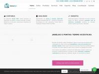 Atenuasom.com.br - Homepage - Atenua Som - Janelas e Portas Acústicas / Anti Ruído