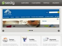 SEDIG - Soluções web