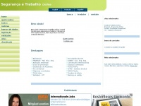 SEGURAN�A E TRABALHO ONLINE - SAFETY AND WORK ONLINE