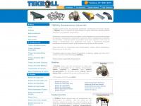 Tekroll.com.br - TEKROLL - Roletes, Transportadores, Esferas Transferidoras, Trilhos Flow Rack, Minirail, Esteiras Transportadoras