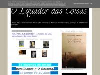 O Equador das Coisas