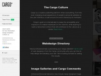 Cargocollective.com - Put your projects on the Web.