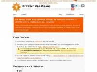 Notifies visitors to update their browser - Browser-Update.org