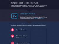 Pingtest.net - The Global Broadband Quality Test