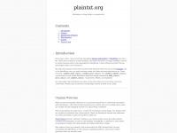 plaintxt.org