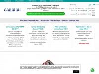 Cadiriri.com.br - Pistões Pneumáticos - Unidades Hidráulicas - Sobras Industriais - Comercial Cadiriri - Sobras Industriais - Pneumáticos - Hidráulicas