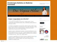 Reabilitação, Tecnologia em Ciência e Qualidade de Vida | Dra. Virgínia Helena – fisioterapeuta e personal trainer