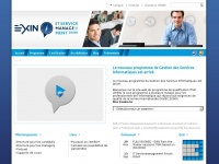 Exin-itsm.fr - Accueil - ITSM according to EXIN