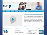 Exin-itsm.nl - Praktisch IT Service Management - ITSM according to EXIN