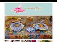 Sapatinho de Cristal - por Vanessa Raya