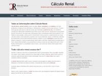 Cálculo Renal - Pedra nos Rins - Calculo Renal