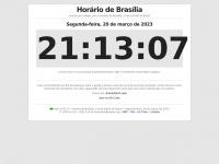 Horariodebrasilia.org - Horário de Brasília - Hora Certa Oficial do Brasil