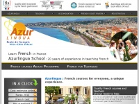 Azurlingua.co.uk - Azurlingua French Language School on the French Riviera | Quality label