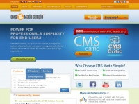 Cmsmadesimple.org - Open Source Content Management System CMS Made Simple