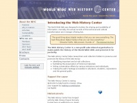 webhistory.org