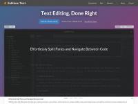 sublimetext.com