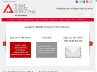 Atheistalliance.org - Atheist Alliance International - a positive voice for atheism and secularism