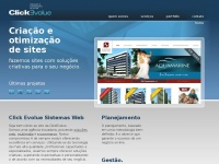 Clickevolue.com.br - Click Evolue | Sites e Sistemas Web