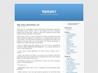 Yallah! – por Roberta Salgueiro