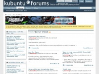 Kubuntuforums.net - Kubuntu Forums - The Front Page