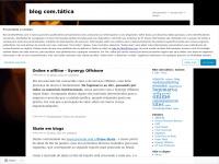blog com.tática | planejamento > comunicação > design