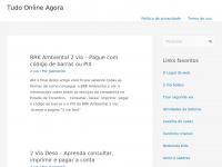 Tudo Online Agora - Blog com tudo o que você precisa agora online!