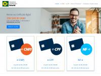 Acnotarial.com.br - AC Notarial Certificado Digital e-CPF e-CNPJNFe SSL Conectividade Social