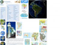 Mapas do Brasil e do Mundo - Guia Geográfico