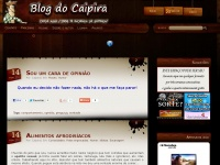 Blog do Caipira - Site de humor | Blog humor | Humor blog