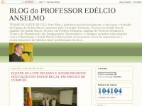 BLOG do PROFESSOR EDÉLCIO ANSELMO