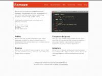 Ramaze.net - Ramaze • The Web Framework for Rubyists