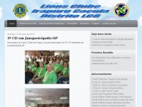 Lions Clube de Irapuru Caçula