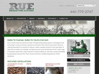 Ruf-briquetter.com - RUF Briquetting Systems | Briquette Machine Manufacturers