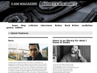 3ammagazine.com - Whatever it is, we're against it. - 3:AM Magazine