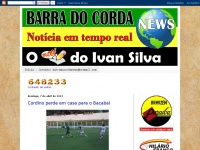 Barradocordanews.com - BARRA DO CORDA NEWS - O BLOG DO IVAN SILVA
