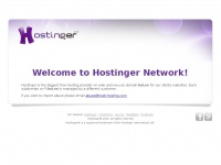 Welcome to hol.es - Managed by Hostinger