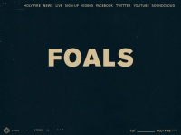 Foals.co.uk - Foals   The official website of Foals   News, Tour Dates, Videos, Photos and more