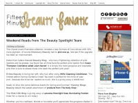 15minutebeauty.com - 15 Minute Beauty Fanatic -