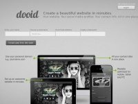Dooid.me - dooid - create your personal landing page & contact hub
