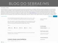 Blog do Sebrae/MS   Empreendedorismo em Mato Grosso do Sul
