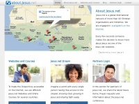 About Jesus.net - Making the Gospel freely accessible on the internet