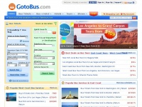 Gotobus.com - GotoBus - Book Bus Tickets, Compare Bus Schedules, Bus Routes, Reviews Online - Bus Travel Made Easy